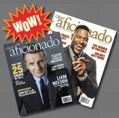 RewardsGold Free One Year Subscription to Cigar Aficionado Magazine - US
