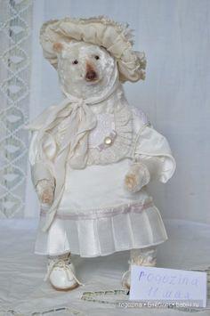 Бекки мишка тедди / Авторские и коллекционные игрушки / Шопик. Продать купить куклу / Бэйбики. Куклы фото. Одежда для кукол