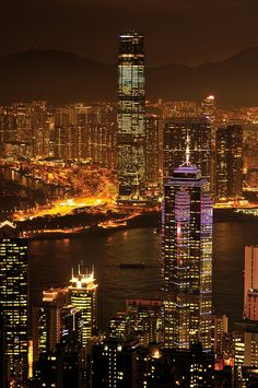 Hong Kong's city skyline is considered by many as the most beautiful city-skyline on earth!