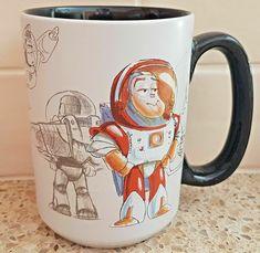 Buzz Lightyear Coffee Mug Cup Disney Toy Story 20th Anniversary NEW Disney Gift, Disney Toys, Buzz Lightyear, 20th Anniversary, Mug Cup, Toy Story, Holiday, Christmas, Coffee Mugs
