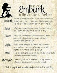 Embark Serve Heart Might Mind Strength #CFM2015