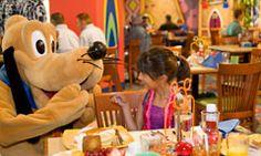Character Dining at the Disneyland Resort