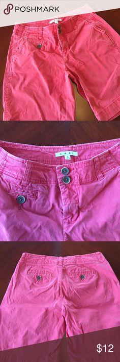 CAbi shorts CAbi shorts( more red than pink) CAbi Shorts