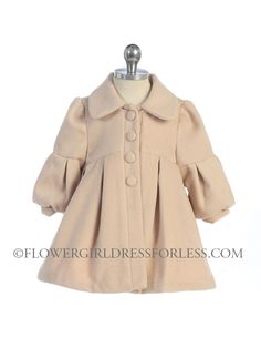 Girls Coat Style 5098- Super Cute Fleece Jacket (Lined) $39.99