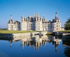 Real-Life Disney Movie Locations You Can Actually Visit - CHATEAU DE CHAMBORD, LOIRE VALLEY, FRANCE:BEAUTY AND THE BEAST from InStyle.com