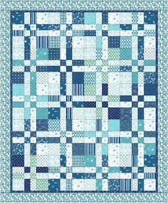Moda Bake Shop: Landlocked Sea Lover's Quilt