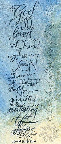 John 3:16 Bible Verse for Easter | My all time favorite bible verse!