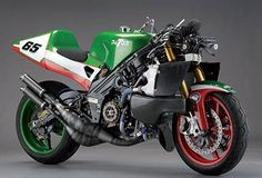 Paton PG500RC TT. The second official 2001 bike modified for the Isle of Man circuit