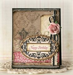 JustRite Birthday Card designed by Laurie Schmidlin