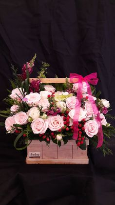 Flower Basket, Flower Boxes, Flowers, Flower Art Images, Centerpieces, Table Decorations, Happy Birthday Greetings, Flower Aesthetic, Flower Wallpaper