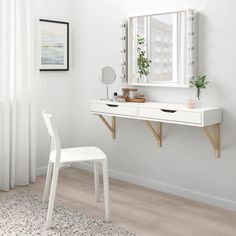 IKEA offers everything from living room furniture to mattresses and bedroom furniture so that you can design your life at home. Check out our furniture and home furnishings! Wall Shelf With Drawer, Drawer Shelves, Wall Shelves, Shelves In Bedroom, Ikea Bedroom, Bedroom Decor, Bedroom Ideas, Master Bedroom, Bedroom Brown