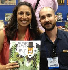 Teach Mentor Texts: Mr. Tiger Goes Wild Blog Tour Scavenger Hunt! #slice2013