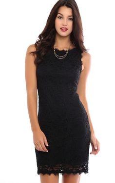 Deb Shops Eyelash Lace Bodycon Dress with Boat Neckline $27.00