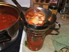 Canning Granny: Grab 'N' Go Canned Soup... Part 1 Hamburger Vegetable Soup