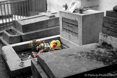 Jim Morrison's grave - Pere Lachaise cemetery, Paris, France - Visited this site and a few other famous graves there.