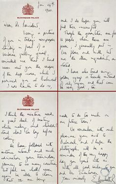 The story This scone recipe was sent by Queen Elizabeth II to Dwight David Eisenhower, on January 24, 1960, in response to the President's earlier request. When President and Mrs Eisenhower visited the Royal Family at Balmoral Castle in Scotland in 1959, they apparently loved the little British biscuits. Here's the letter that accompanied …