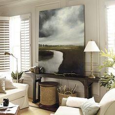 Storm Over the Marsh by James McLaughlin Way, via Ballard Designs