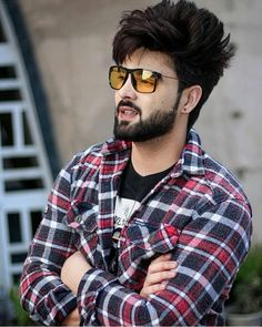 Image may contain: one or more people, beard and sunglasses Creative Portrait Photography, Photography Poses For Men, Nature Photography, Blur Background In Photoshop, Background Images, Photoshoot Pose Boy, Cute Boy Photo, Boys Dpz, Stylish Boys