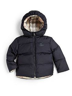 Burberry Infant's Reversible Check Puffer Jacket