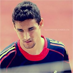 Jesus Navas- I do t usually go for this look.. but DAMN he is hot