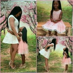 Mother and daughter shoot def ganna do with my princesses love the theme of course Mother Daughter Photos, Future Daughter, Daughter Love, Mother Daughters, Mother Son, Cute Family, Baby Family, Family Goals, Black Is Beautiful