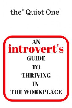 Being an introvert can be a challenge in the workplace; identifying the unique and awesome skills that come with being an introvert and practicing a few communication strategies can help you survive - and even thrive Behavioral Psychology, Work Related Stress, Self Confidence Tips, The Quiet Ones, Job Satisfaction, Self Development, Personal Development, Struggle Is Real, Coping Skills