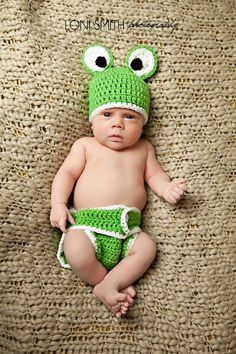 Hey, I found this really awesome Etsy listing at http://www.etsy.com/listing/81534233/frog-hat-diaper-cover-set-crochet-baby