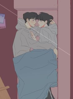 Manga Art, Manga Anime, Anime Art, Anime Love, Anime Guys, Kpop Drawings, Cute Gay Couples, Kpop Fanart, Gay Art