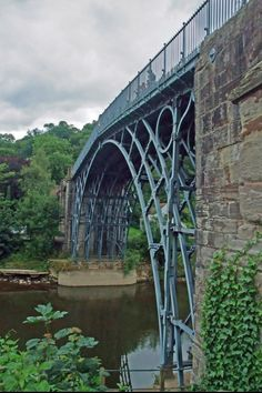 The Iron Bridge, Shropshire, England