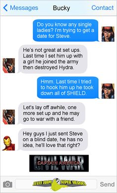 Saving the world, and conversations. Texts From Superheroes is run by internet comedian Diana. - Visit to grab an amazing super hero shirt now on sale! Marvel Funny, Marvel Memes, Marvel Dc Comics, Marvel Avengers, Avengers Texts, Stony Avengers, Superhero Texts, Dc Memes, Movie Memes