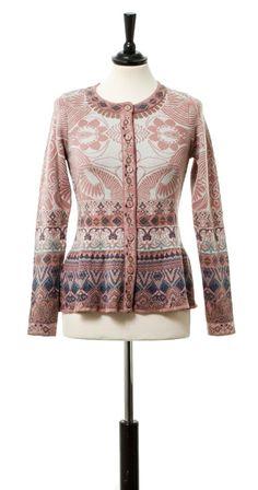 elle-belle.de Strickblazer - Pink von Kooi - KOOI - Marken skandinavische mode online kaufen