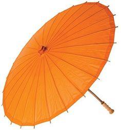 Ppower Paraguas estilo japonés chino bambú Sombrilla Paraguas de danza (Naranja) - http://comprarparaguas.com/baratos/japoneses/ppower-paraguas-estilo-japones-chino-bambu-sombrilla-paraguas-de-danza-naranja/