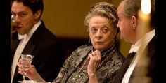 """Robert: """"They do say there's a wild man inside all of us."""" Violet: """"If only he would stay inside.""""  A euphemism, Madame Dowager? :)"""