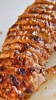 Pork Tenderloin with Pan Sauce ~ The absolute best pork ever... The sauce is amazing! It's pretty foolproof and sure to be a hit with all