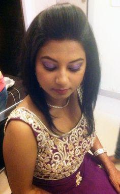 Our Client Parineeta's #bridal #makeup & #hairdo done by Sr. Therapist Ujwala & Asma