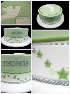 This is the communion cake I was talking about when I made the pink, blossoms communion cake post. This cake was actually for a combination Confirmation and First Holy Communion celebration. It was…