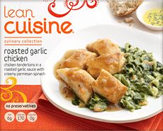 Lean Cuisine Culinary Collection: Spinach & Mushroom Pizza ...