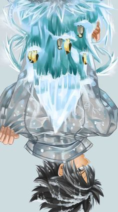Queen of Water and King of ice (人´∀`*) ♥ ♥