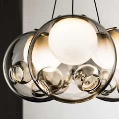 Uii28 Series chandelier designed by Omer Arbel