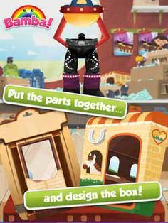 Bamba Toys - run your own toy shop and make the most beautiful toys and outfits! ($1.99->FREE) Free Games For Kids, Windows Phone, Toys Shop, Ipod Touch, Free Apps, Ipad, Family Guy, Children, Creative
