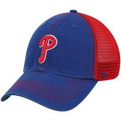 3022702ca0d Men s Philadelphia Phillies  47 Royal Trawler Clean Up Trucker Hat