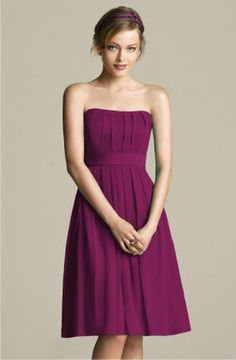 Fig colored dress