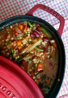 soupe Minestrone / Envie d'une recette végétarienne