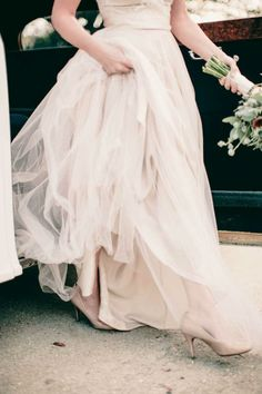 Vintage Charleston wedding inspiration featuring The Onyx Gown from BHLDN
