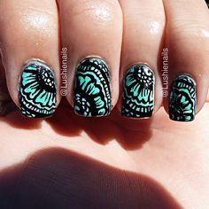 Instagram photo by lushienails  #nail #nails #nailart