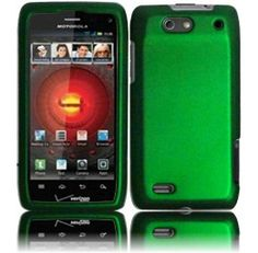 Amazon.com: Dark Green Hard Case Cover for Motorola Droid 4 XT894: Cell Phones & Accessories