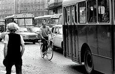 Kaisaniemenkatu 1970-luku. Eeva Ristan ja Simo Ristan valokuvia Helsingistä.