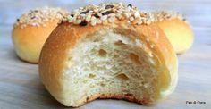 Panini morbidi da aperitivo, Mini Buns Bread Cones, Mini Bun, Bun Recipe, Yeast Bread, Challah, Artisan Bread, Quick Bread, Sweet Bread, Finger Foods
