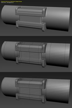 How The F*#% Do I Model This? - Reply for help with specific shapes - Page 96 - polycount
