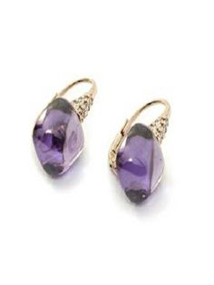 # Silver Earrings in Violet # http://www.voom-watches.co.uk/online-store/womens-earrings/earrings-with-violet-crystal/25-2009